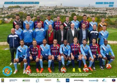 MAISON TRADITION est partenaire de l'ACFC (foot Angoulème 1er club en Charente) depuis 6 ans