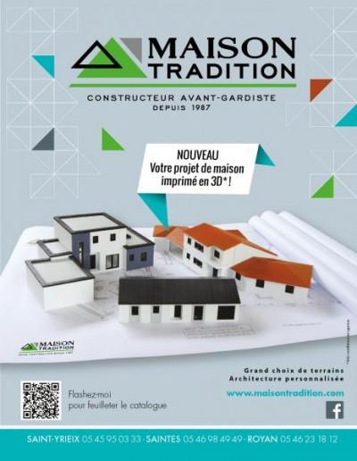 Animation sur le stand Maison Tradition, impression en 3 D d'une maison…