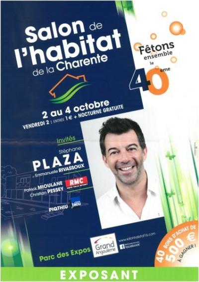MAISON TRADITION au salon de l'Habitat de la Charente du 2 au 4/10/2015