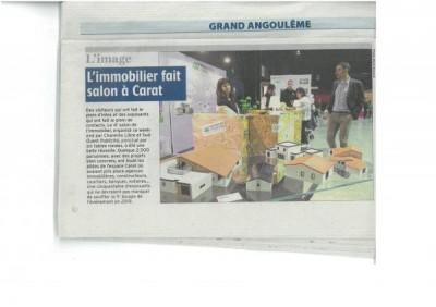 Maison Tradition dans la Charente Libre du 26 février 2018