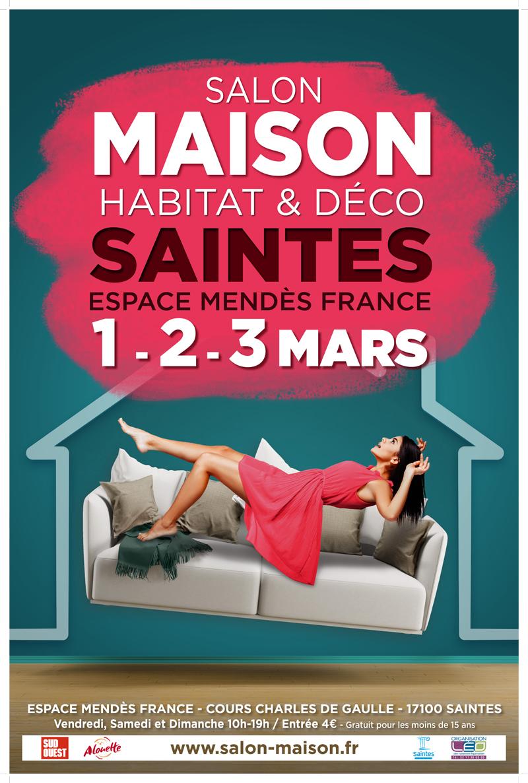 Salon Maison Habitat & déco espace Mendès France le 1, 2, 3 mars 2019