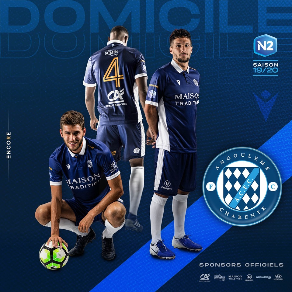 Nouveaux maillots 2019 / 2020 pour l'ACFC
