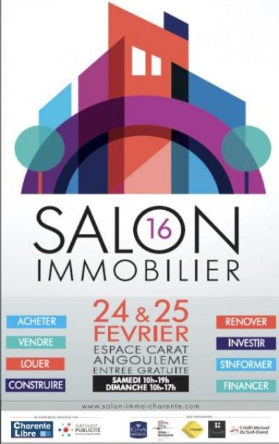 Salon Immobilier 24 et 25/02/2018 à Carat 16