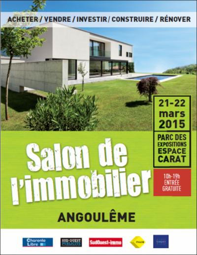 MAISON TRADITION au Salon de l'Immobilier 21 et 22/03/2015 à Angoulême