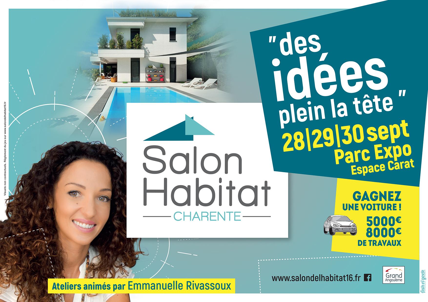 Salons de l'Habitat du Jardin de Saintes et de la Charente à l'espace Carat