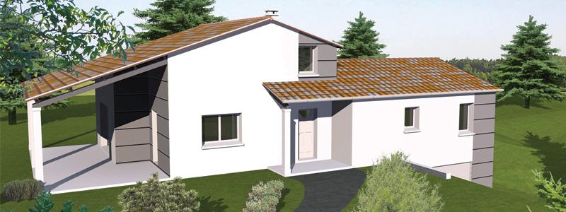 Maison Prestige P1 construction en Charente et Charente Maritime