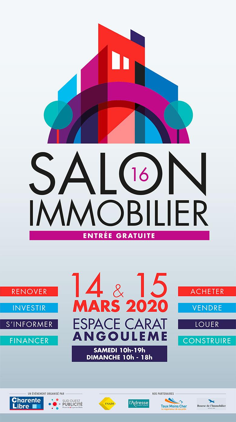 Salon de l'immobilier / Espace Carat Angoulême le 14 et 15 mars